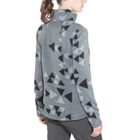 The North Face Crescent Full Zip Women Mid Grey Aztec Print